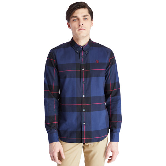 Back River Organic Cotton Shirt for Men in Navy | Timberland