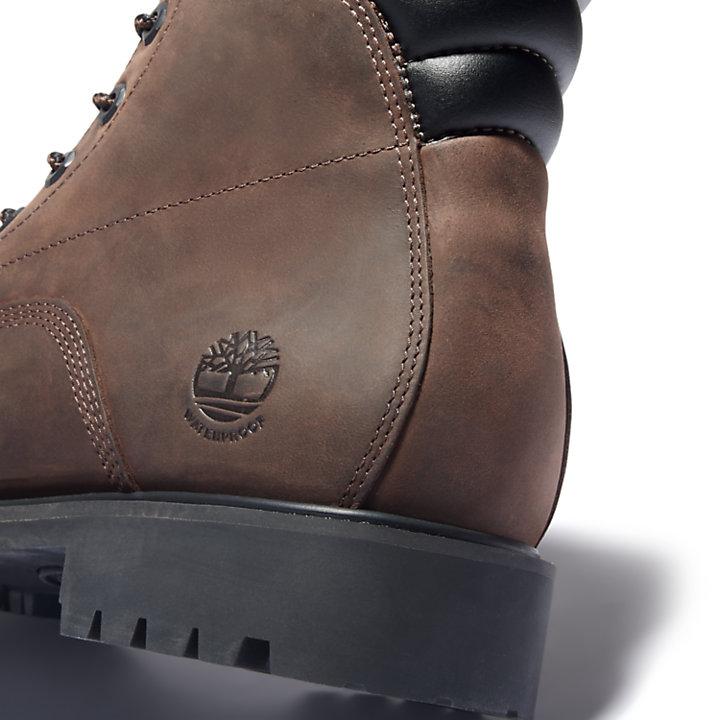Scarponcino da Uomo Alburn 6 inch in marrone scuro-