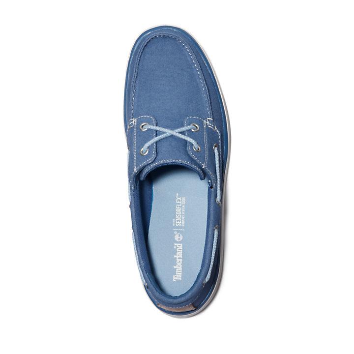 Chaussure bateau Gateway Pier pour homme en bleu-