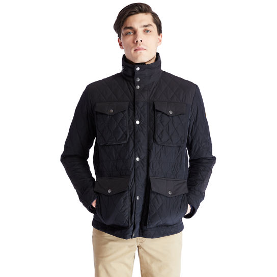 Mount Crawford Quilted M65 Jacket for Men in Black | Timberland