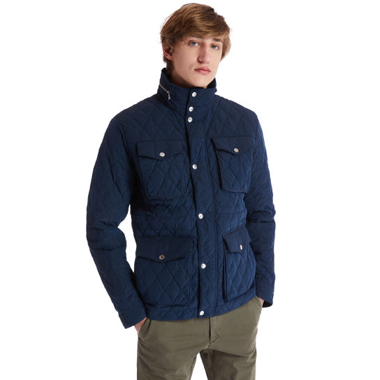 Mount Crawford Quilted M65 Jacket for Men in Navy | Timberland