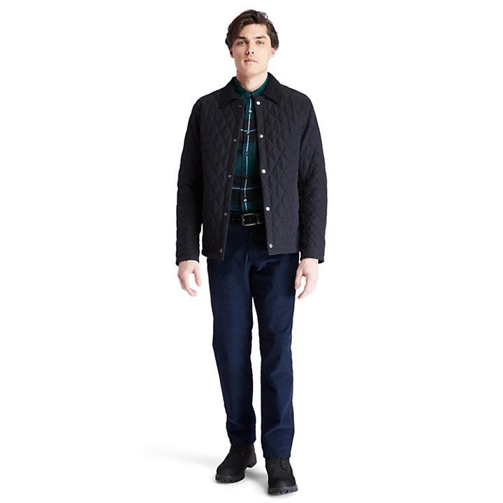 Overshirt da Uomo Mount Crawford in colore nero-