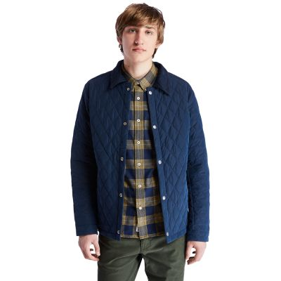 Overshirt+da+Uomo+Mount+Crawford+in+blu+marino