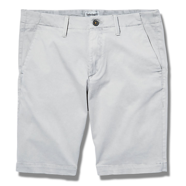 Squam Lake Chino Shorts for Men in Grey-
