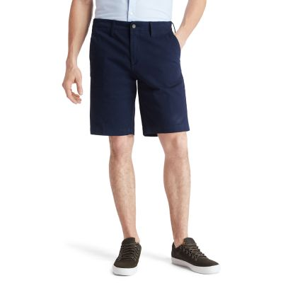 Squam+Lake+Chino+Shorts+for+Men+in+Navy