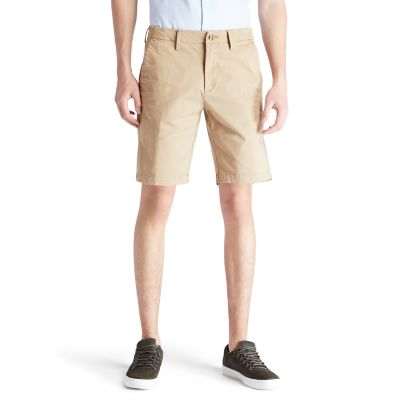 Squam+Lake+Chino+Shorts+voor+Heren+in+kaki