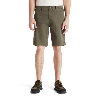Squam+Lake+Chino+Shorts+voor+Heren+in+groen