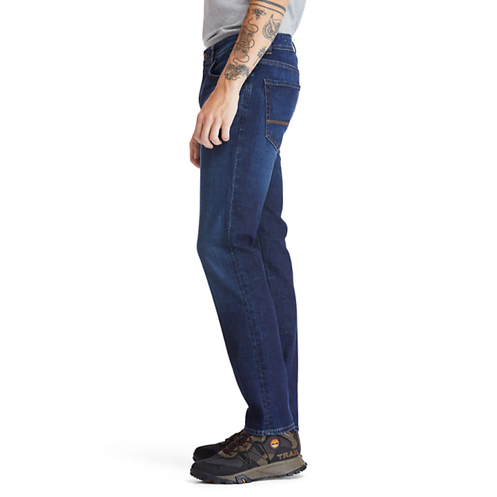 Sargent Lake Stretch Jeans for Men in Dark Blue-