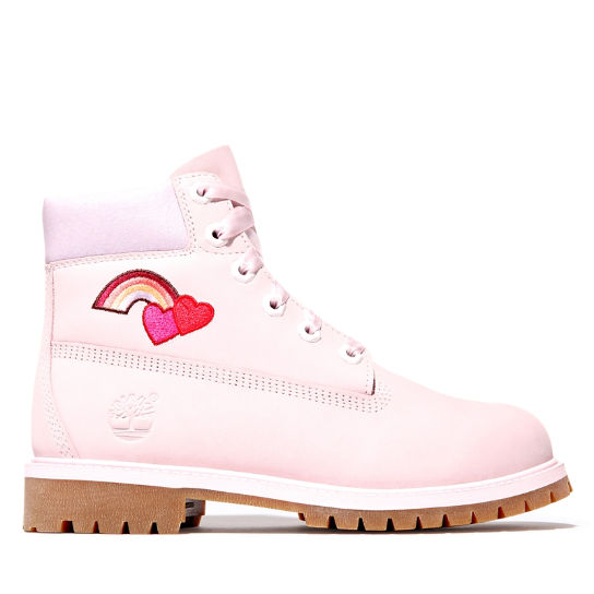 6 Inch Premium Boot for Junior in Light Pink | Timberland