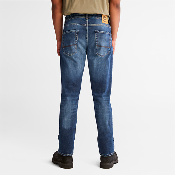 Squam Lake Stretch Jeans in Blue-