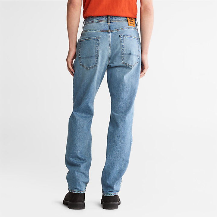 Squam Lake Stretch Jeans in Light Blue-