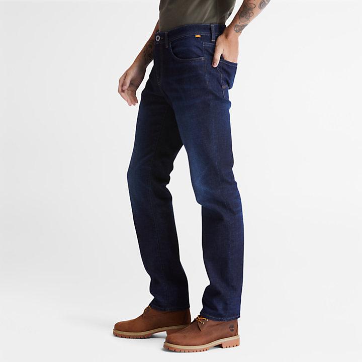 Squam Lake Stretch Jeans in Dark Blue-