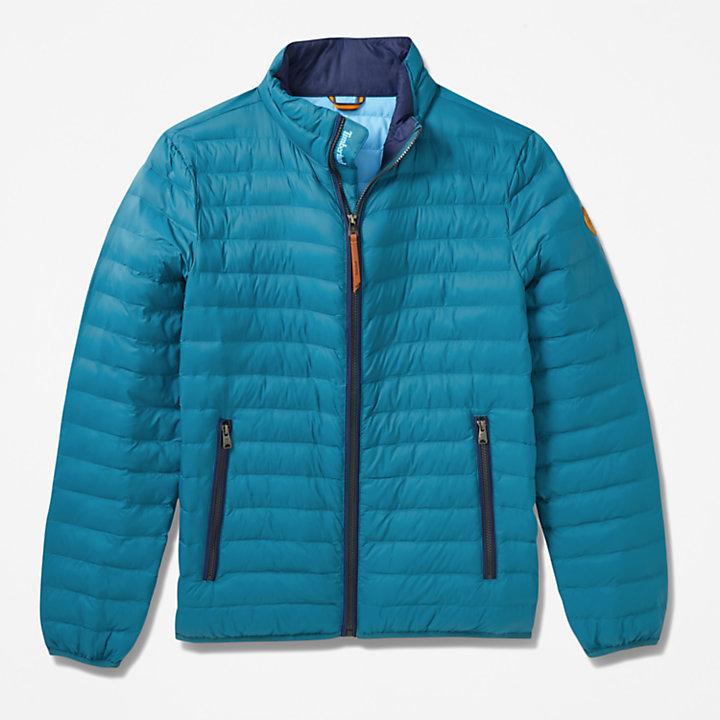 Axis Peak Packaway Jacket for Men in Teal-