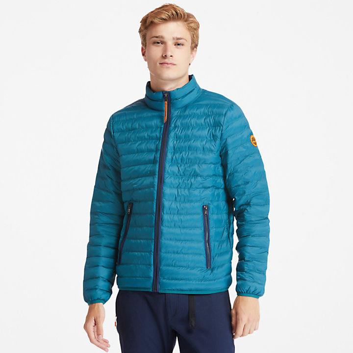Axis Peak Packaway Jacket for Men in Teal-