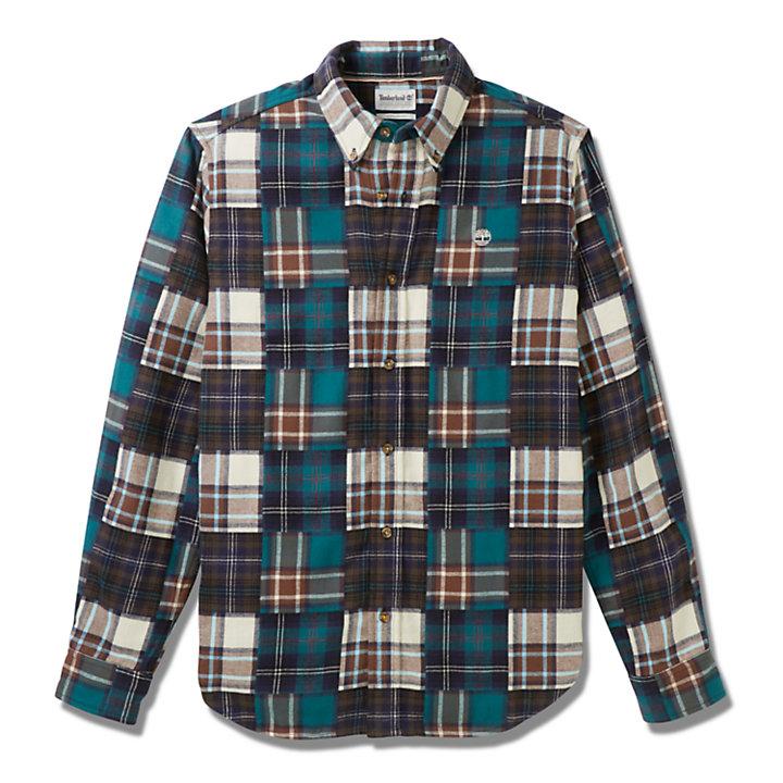 Camisa de Retazos Back River para Hombre multicolor-