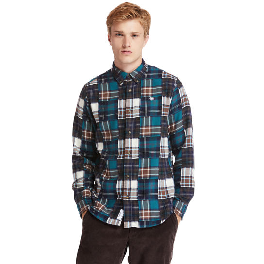 Back River Patchwork Shirt for Men in Multicoloured | Timberland