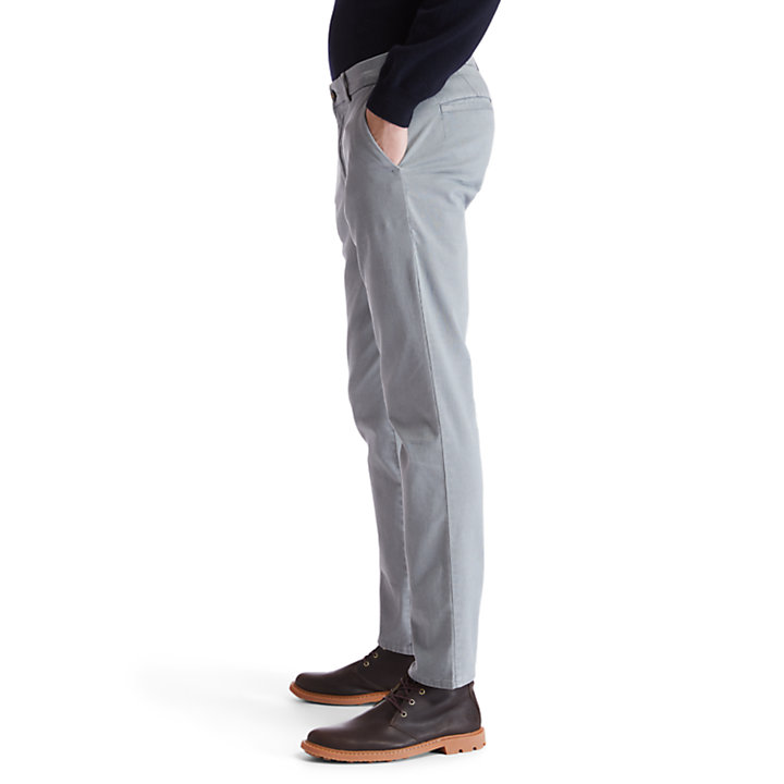 Sargent Lake Printed Chinos for Men in Grey-