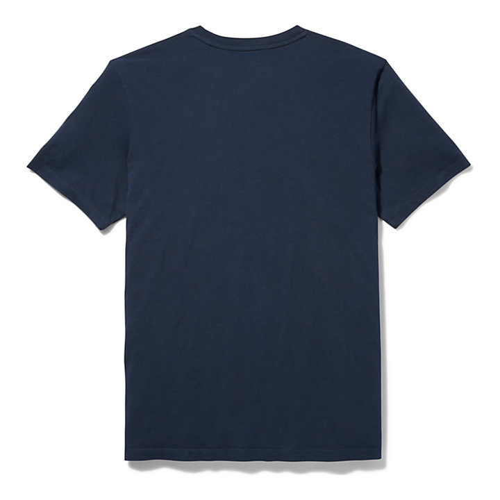 Kennebec River T-Shirt für Herren in Navyblau-