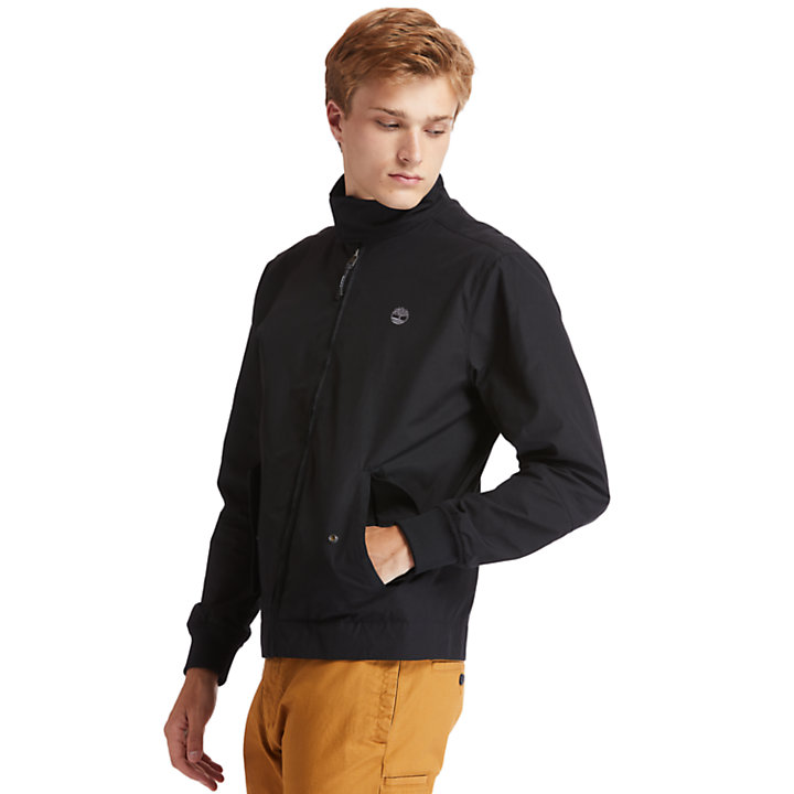 Harrington Bomber Jacket for Men in Black-