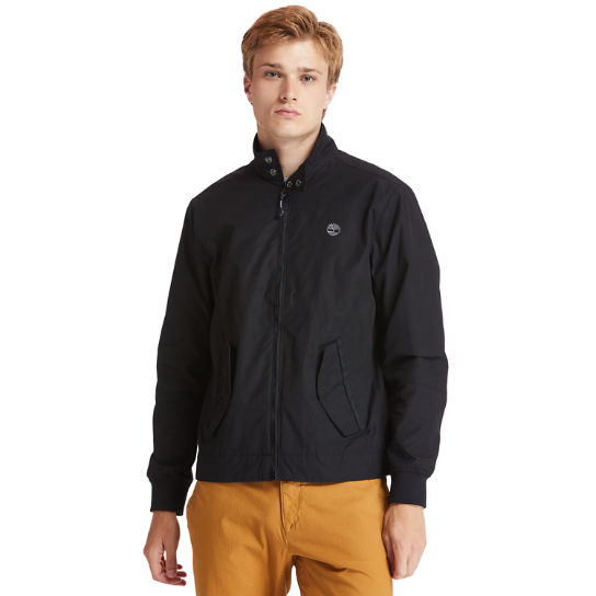 Harrington Bomber Jacket for Men in Black | Timberland