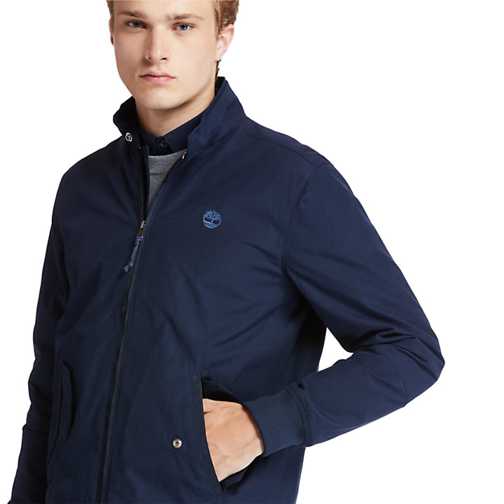 Harrington Bomber Jacket for Men in Navy-