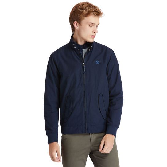 Harrington Bomber Jacket for Men in Navy | Timberland