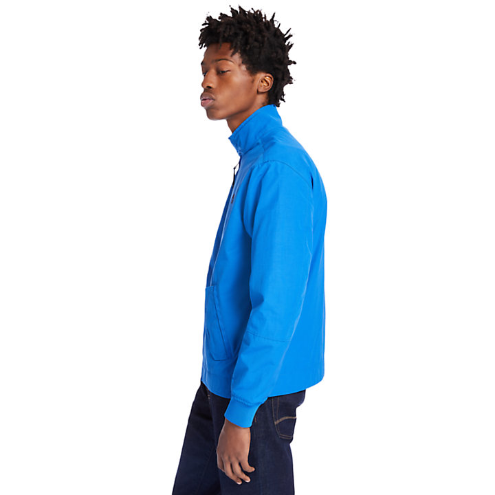 Harrington Bomber Jacket for Men in Blue-