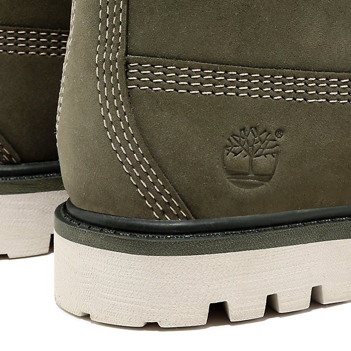 Premium 6 Inch Boot for Toddler in Dark Green-