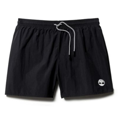Sunapee+Lake+Solid+Swim+Shorts+for+Men+in+Black