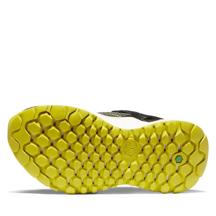 Basket Solar Wave pour tout-petit en vert-