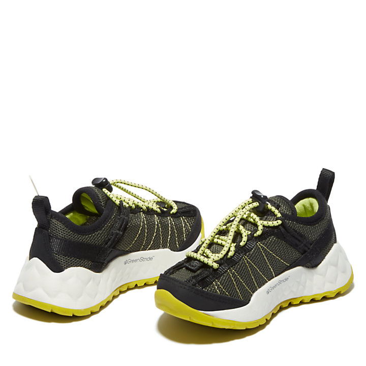 Solar Wave Sneaker for Toddler in Green-