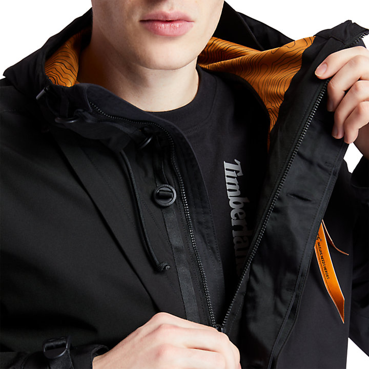 Parka Fishtail Ecoriginal EK+ para Hombre en color negro-