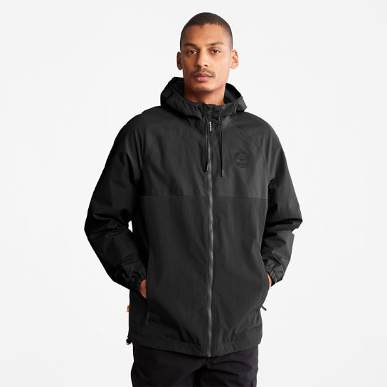 Waterproof Hooded Shell Jacket for Men in Black | Timberland