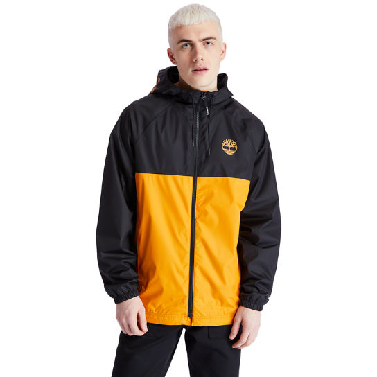 Waterproof Hooded Shell Jacket for Men in Orange | Timberland