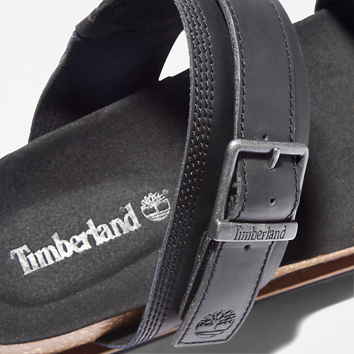 Amalfi Vibes 2 Band Sandal for Men in Black-
