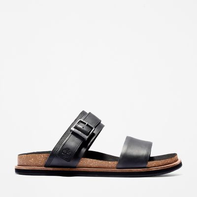Amalfi+Vibes+2+Band+Sandal+for+Men+in+Black