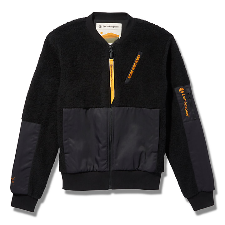 Ecoriginal EK+ Bomber Jacket for Men in Black-