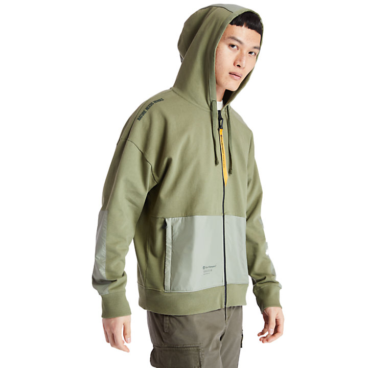 Sudadera con Capucha Ecoriginal EK+ para Hombre en verde-