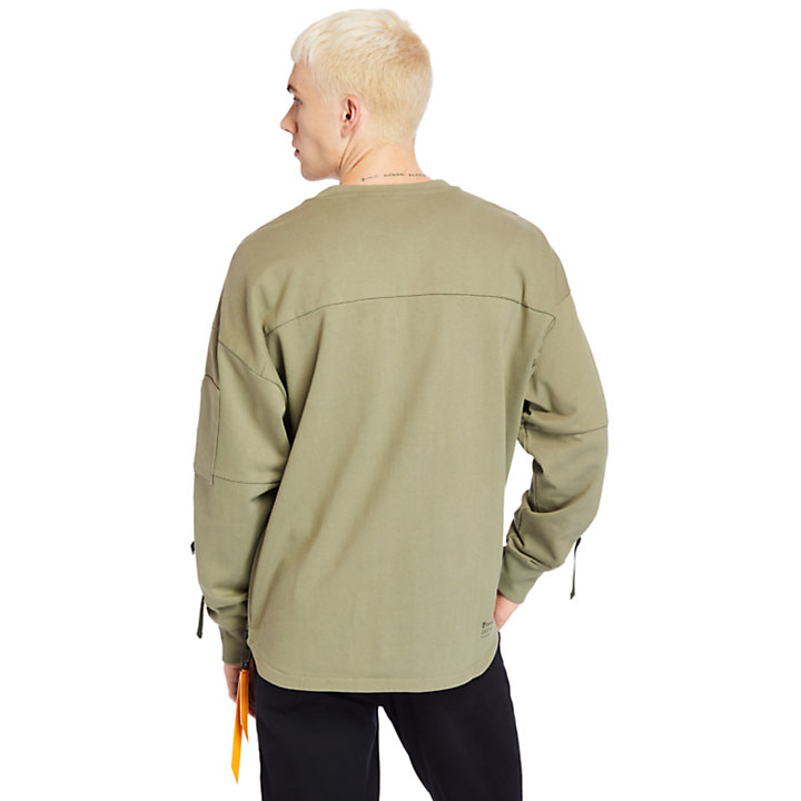 Pull Ecoriginal pour homme en vert-