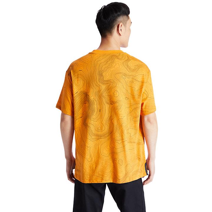 Ecoriginal Pocket T-Shirt for Men in Yellow-