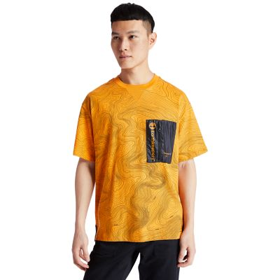 Ecoriginal+Pocket+T-Shirt+for+Men+in+Yellow