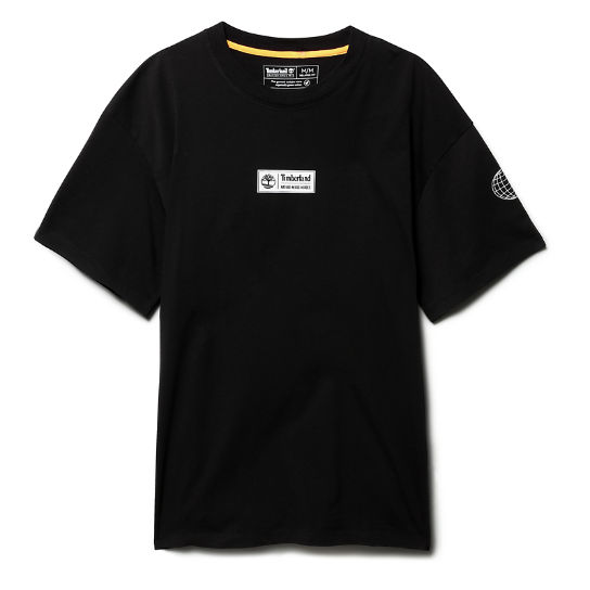 Nature Needs Heroes™ T-Shirt für Herren in Schwarz | Timberland
