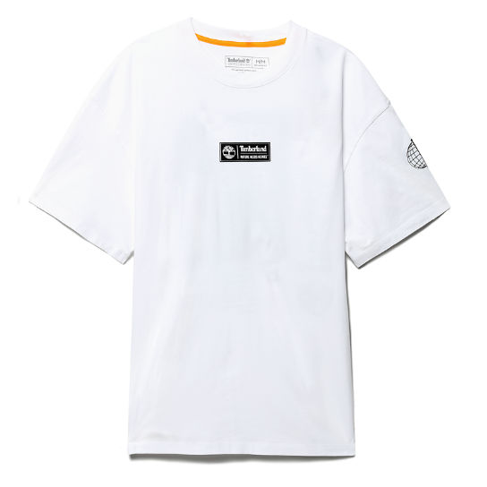 Nature Needs Heroes™ T-Shirt for Men in White | Timberland