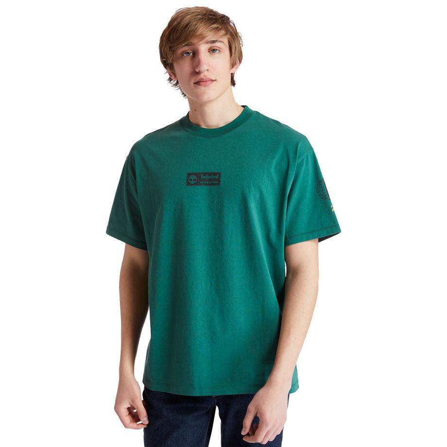 T-shirt Nature Needs Heroes? En , Taille M - Timberland - Modalova