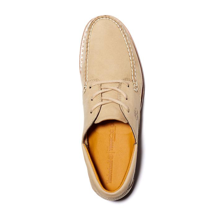 Oxford Jackson' s Landing Moc Toe pour homme en beige-