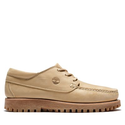 Jackson%27s+Landing+Moc+Toe+Oxford+voor+heren+in+beige