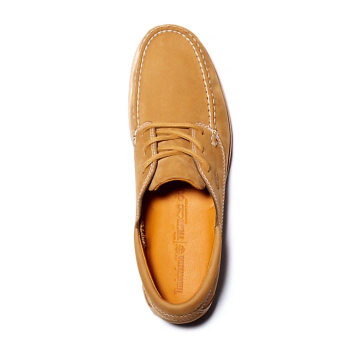 Jackson's Landing Moc Toe Oxford for Men in Yellow-