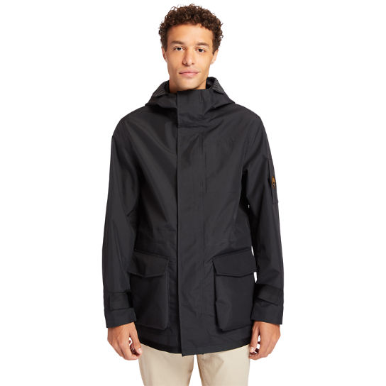 Reversible Commuter Overcoat for Men in Black | Timberland