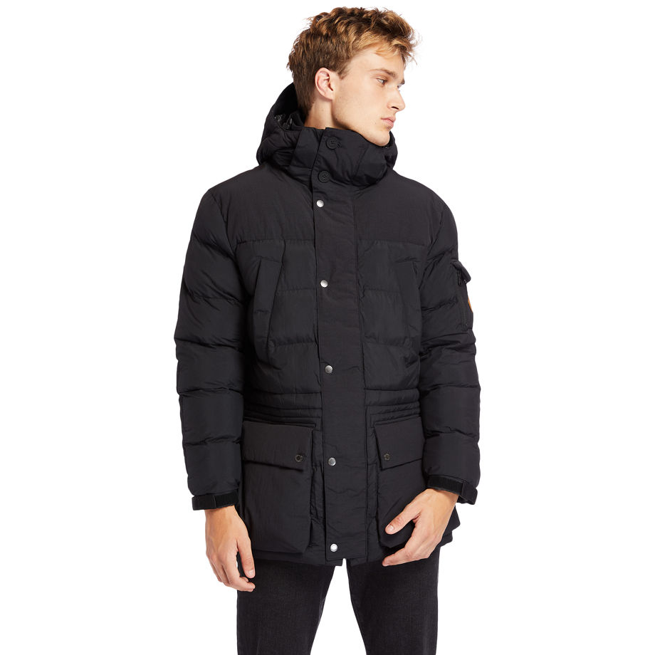 Timberland Mount Magalloway Jacket For Men In Black Black, Size XXL