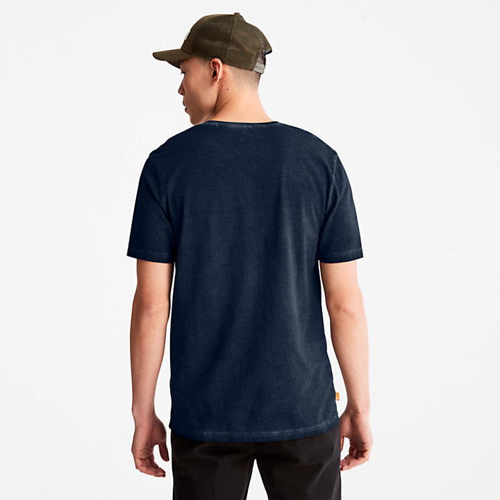 Lamprey River T-shirt for Men in Navy-